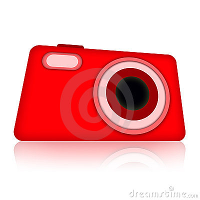 Compact digital photo camera