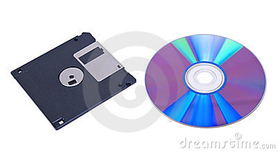 Compact disk and floppy