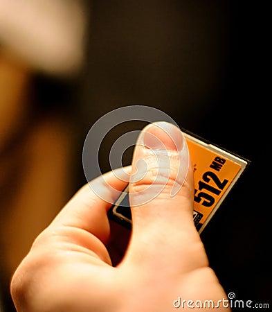 Free Compact Flash Card, Memory For Digital Camera Stock Photos - 168403