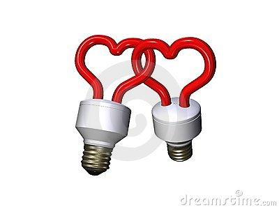 Compact fluorescent lamps in love