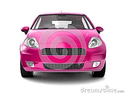 white barbie car
