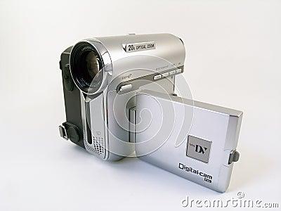Compacte videocamera van de consument