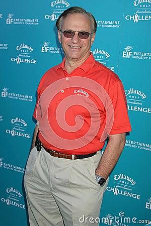 Companheiros de George no desafio da fundação do golfe de Callaway que beneficia programas de investigação do cancro da fundação d Fotografia Editorial