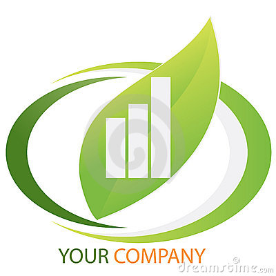 Company business logo - Investment