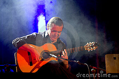 Company flamenco Nino de Pura Editorial Stock Photo