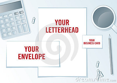 Company identity presentation format.