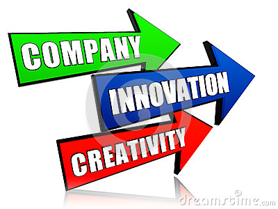Company, innovation and creativity in arrows