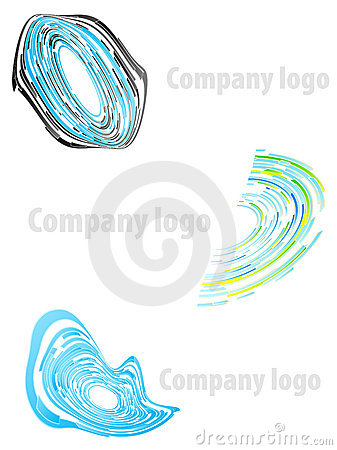 Company logo abstract set 1