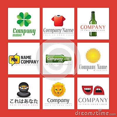 Company logo illustrations