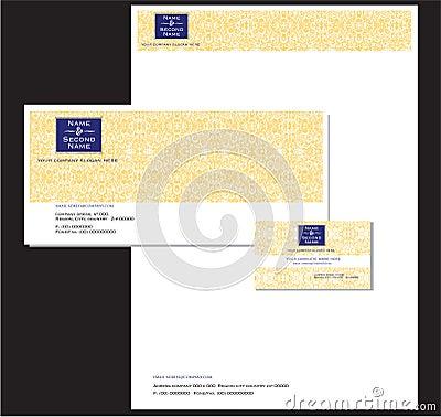 Company Stationery and Card