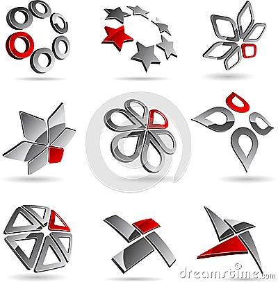 Free Company Symbols. Royalty Free Stock Photography - 10117437