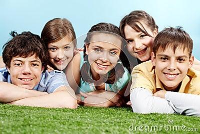 Company of teens