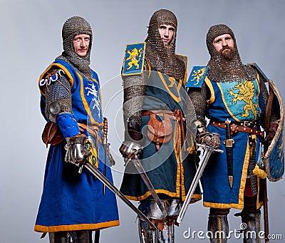 Company of three knights