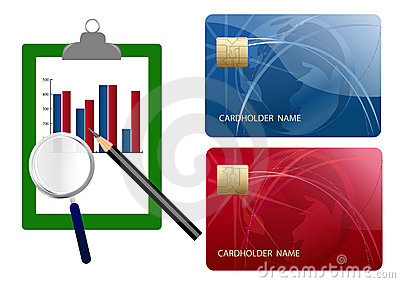 Compare credit cards expense