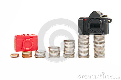Comparing price between Compact Camera and DSLR Ca