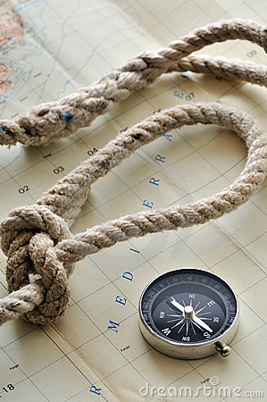 Compass  Royalty Free Stock Image - Image: 18559526
