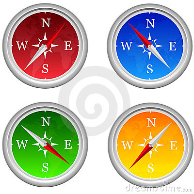 Compass Royalty Free Stock Photos - Image: 23073178