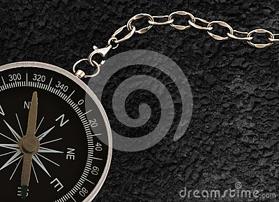 Compass with chain