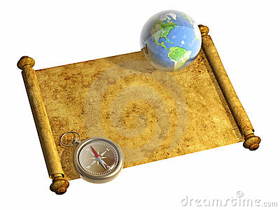 Compass and Earth