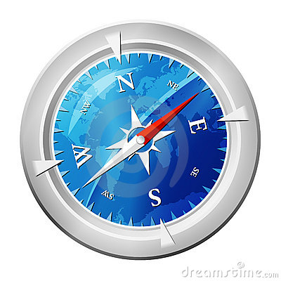 Free Compass Glossy Stock Photos - 7136933