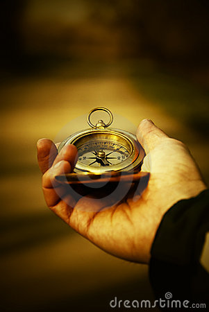 Free Compass In Hand Stock Photos - 2208933