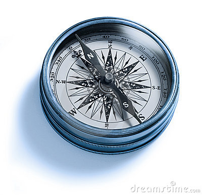 Free Compass Isolated Royalty Free Stock Photos - 12016068