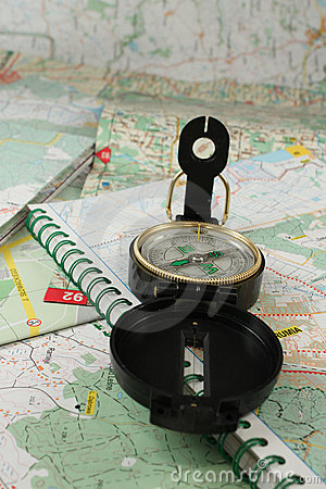 Compass and the map