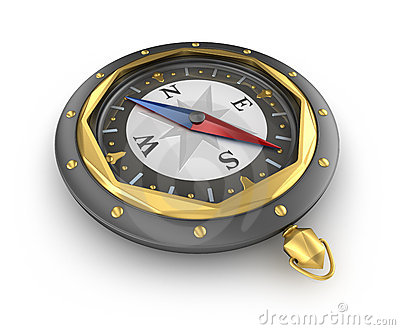 Compass. Old style