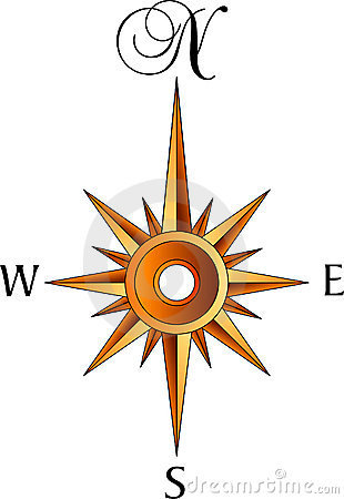 Free Compass Rose Stock Image - 4769081