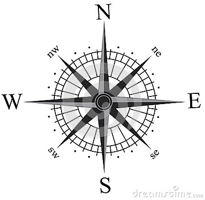 Free Compass Rose Royalty Free Stock Images - 56853539