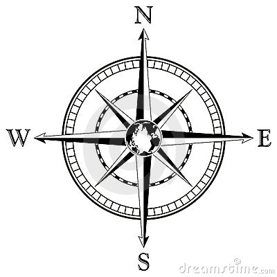 Compass Rose Black And White Compass Rose Clipart Black And White