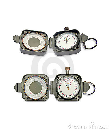 Compass with a timer