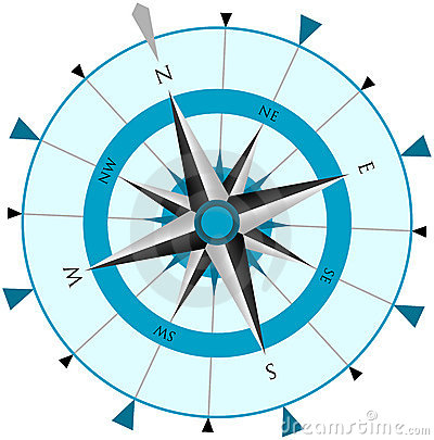 Free Compass Wind Rose Royalty Free Stock Image - 1625166