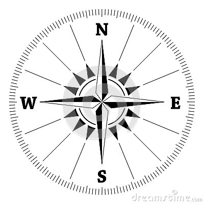Free Compass Wind Rose Stock Photo - 27876200