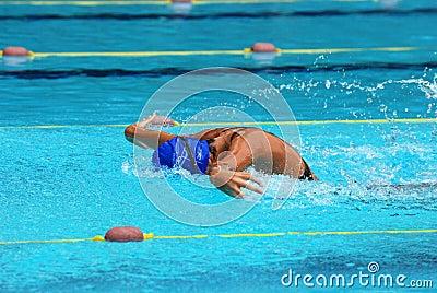 Competencia de la natación
