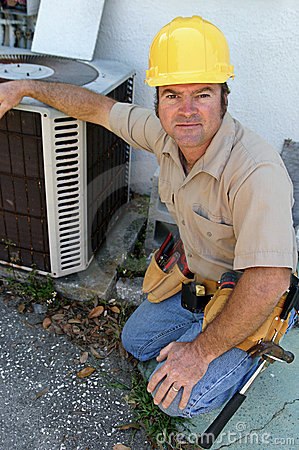 Free Competent AC Repairman Stock Images - 314514