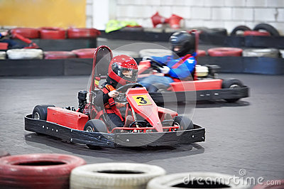 Competition for children karting