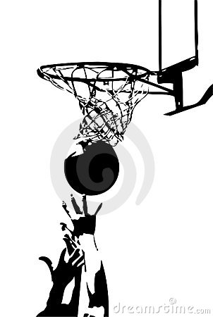 Free Competition In Sports - Basketball Stock Photography - 786502