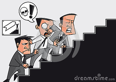 Competition in the   success stairway