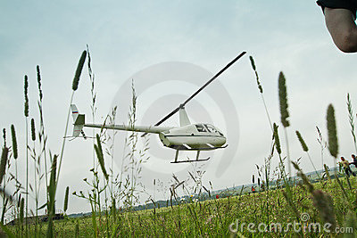 Competitions on helicopter sports in Russia. Editorial Stock Image