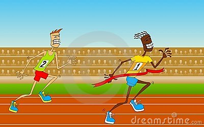 Competitions on track-and-field