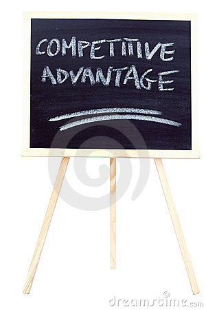 Competitive advantage on the chalkboard