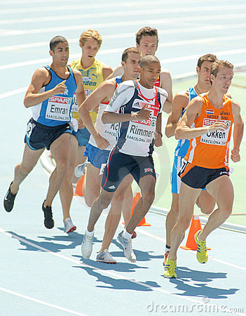 Competitors of 800m Men Editorial Stock Image