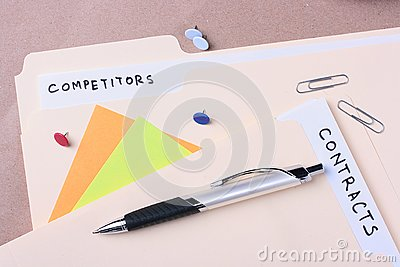 Competitors and contracts