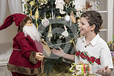 Complaining to Santa Clause