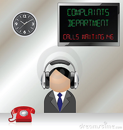 Complaints department