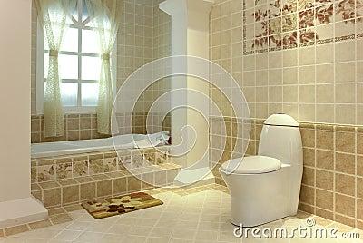 Completamente banheiro