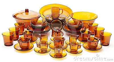 Complete Glass Dish Set