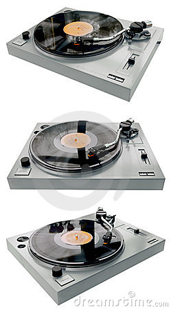 Complete record player
