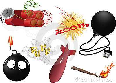 The complete set an explosive